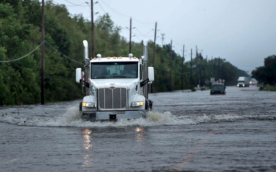 Modeling Effects of Natural Disasters on The US Truckload Market