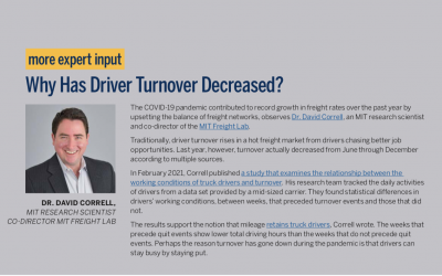 Why Has Driver Turnover Decreased?